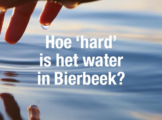 waterhardheid in Bierbeek